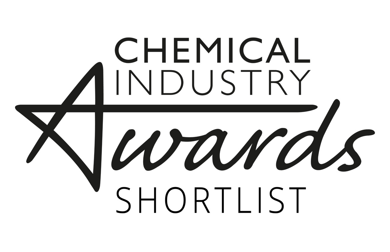 Shortlisted for Chemical Industry Service Provider of the year